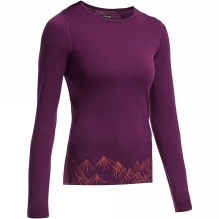 Womens Oasis Long Sleeve Crewe Aoraki II
