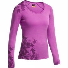 Womens Oasis Long Sleeve Scoop Foliage