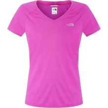 Womens Reaxion Short Sleeve V-Neck