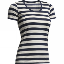 Womens Tech Light Short Sleeve Scoop Tee Stripe