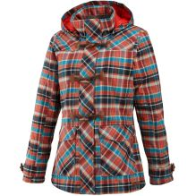Womens Aubrey Plaid Jacket