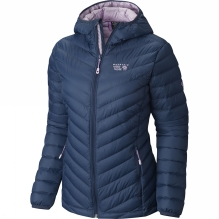Womens Micro Ratio Hooded Down Jacket