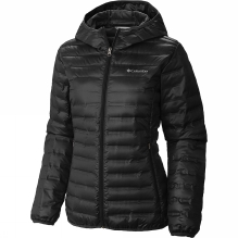Womens Flash Forward Hooded Down Jacket