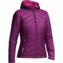 Womens Stratus Long Sleeve Zip Hood