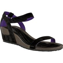 Womens Cabrillo Strap Wedge Suede Sandal