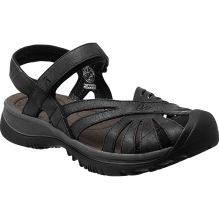 Womens Rose Leather Sandal