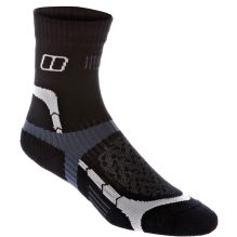 Womens Fast Track Cushioned 1/2 Crew Sock