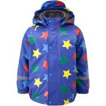 Kids Varberg Fleece Lined Rain Jacket