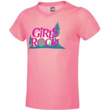 Girls Short Sleeve Camp TNF T-Shirt
