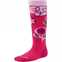 Girls Wintersport Flower Patch Sock