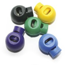 Coloured Cord Lock (Pack of 5)