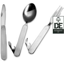 Folding Knife, Fork and Spoon Set