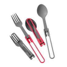 Folding Spoon and Fork Kit (2 of each)