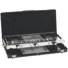 Appetizer 3-Burner Stove with Grill