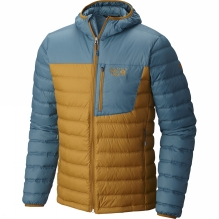 Men's Dynotherm Hooded Down Jacket