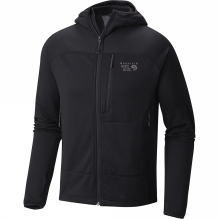 Mens Desna Grid Hooded Jacket