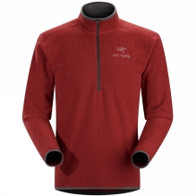 Mens Delta AR Zip Neck