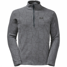 Mens Forest Leaf Half Zip