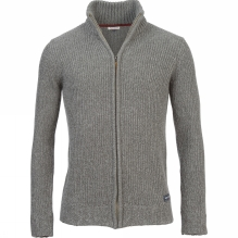 Mens Zip Through Knit Sweater