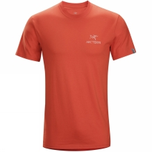 Mens Bird Emblem Short Sleeve T-Shirt