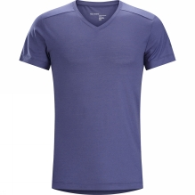 Mens A2B V-Neck Shirt Short Sleeve