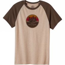 Mens Tent Pitch Club Raglan Tee