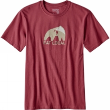 Mens Eat Local Upstream Cotton T-Shirt