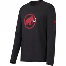 Mens Mammut Logo Long Sleeve Tee