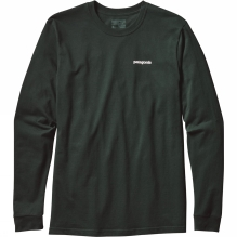 Mens Long-Sleeved P-6 Logo Cotton T-Shirt