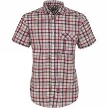 Mens Avery Short-Sleeved Check Shirt