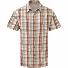 Mens Playa Plaid Short Sleeve Shirt