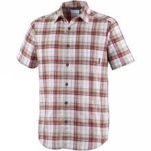 Mens Under Exposure Yarn Dye Short Sleeve Shirt