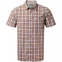 Mens Elmwood Short-Sleeved Check Shirt