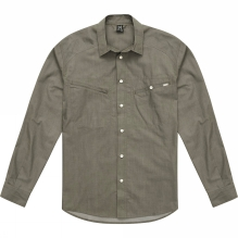 Mens Saba III Long Sleeve Denim Shirt