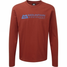Mens Long Sleeve Branded Tee