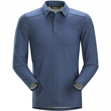 Mens Captive Long Sleeve Polo