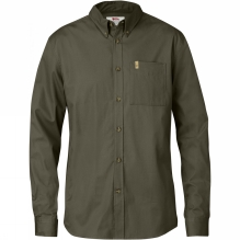 Mens Övik Solid Twill Long Sleeve Shirt