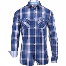 Mens Classic Check Long Sleeve Shirt