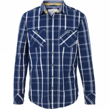 Mens Checked Long Sleeve Shirt