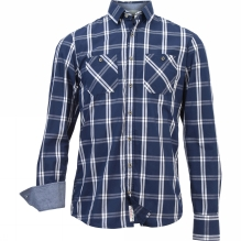 Mens Yarn Dyed Check Shirt
