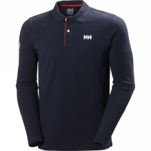 Mens Crew HH Classic Long Sleeve Polo