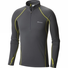 Men's Midweight Stretch Long Sleeve Half Zip