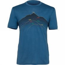 Mens Spector Short Sleeve Crewe Seven Summits