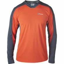 Mens Vapour Long Sleeve Crew Baselayer