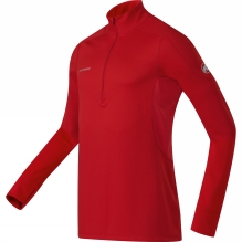 Men's Go Warm Long Sleeve Zip Top