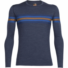 Mens Oasis Long Sleeve Crewe Coronet Stripe