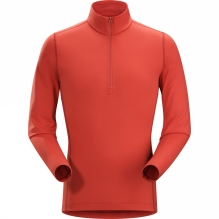 Mens Phase AR Long Sleeve Zip Neck