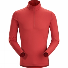 Mens Phase SL Long Sleeve Zip Neck