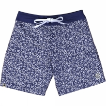 Mens Floral Pockets Board Shorts