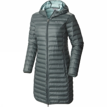 Womens Flash Forward Long Down Jacket